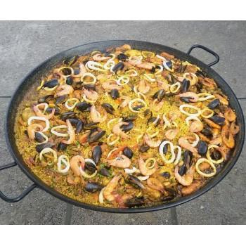 Paella en casserole à emporter